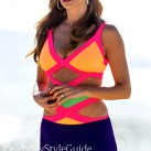 Modern-Family--Season-5-Episode-20-Gloria-Neon-Cutout-Swimsuit-in-Australia