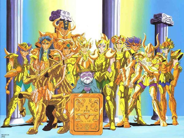 les chevaliers du zodiaque serie