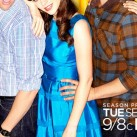 zooey-deschanel-blue-metallic-dress-new-girl-362x580