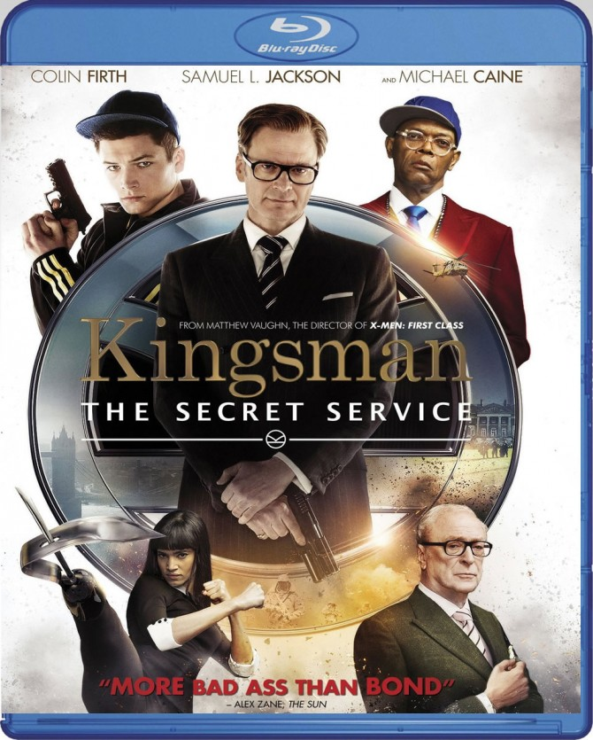 KINGSMAN_THE SECRET SERVICE (BLU-RAY)